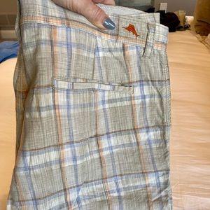 Size 36 tommy bahama shorts